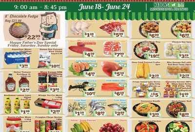 Nations Fresh Foods (Mississauga) Flyer June 18 to 24