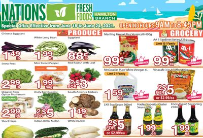 Nations Fresh Foods (Hamilton) Flyer June 18 to 24