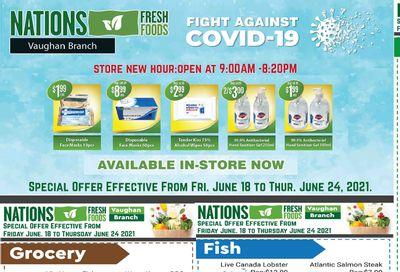Nations Fresh Foods (Vaughan) Flyer June 18 to 24