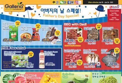 Galleria Supermarket Flyer June 18 to 24