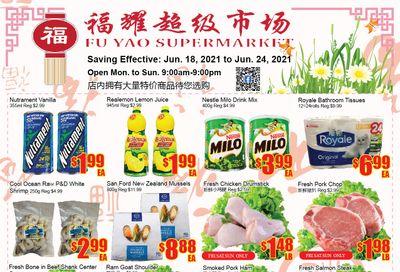 Fu Yao Supermarket Flyer June 18 to 24