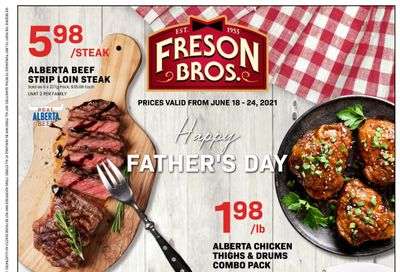 Freson Bros. Flyer June 18 to 24