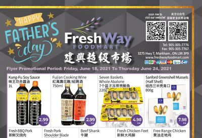 FreshWay Foodmart Flyer June 18 to 24