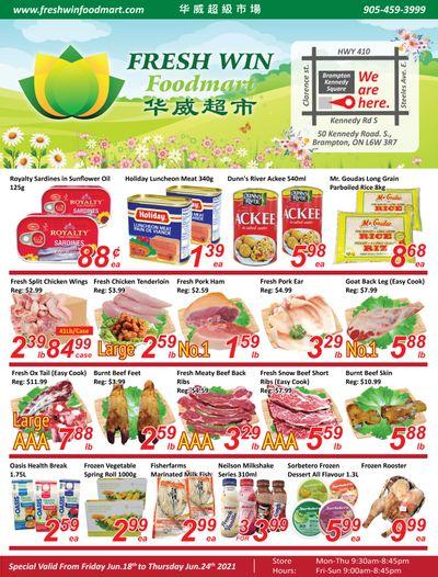 Fresh Win Foodmart Flyer June 18 to 24