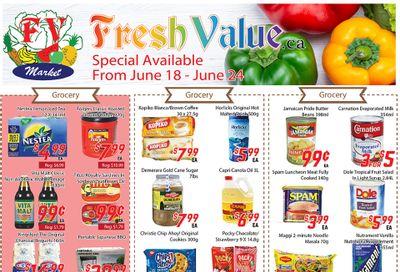 Fresh Value Flyer June 18 to 24