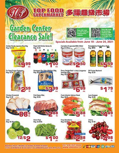 Top Food Supermarket Flyer June 18 to 24