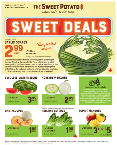 The Sweet Potato Flyer June 18 to July 1
