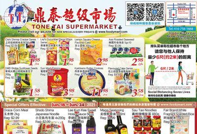 Tone Tai Supermarket Flyer June 18 to 24
