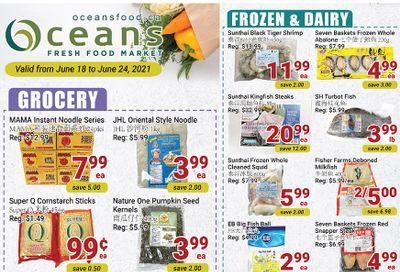 Oceans Fresh Food Market (Mississauga) Flyer June 18 to 24