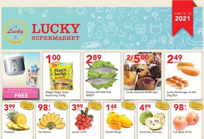 Lucky Supermarket (Surrey) Flyer June 18 to 24