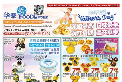 Foody World Flyer June 18 to 24