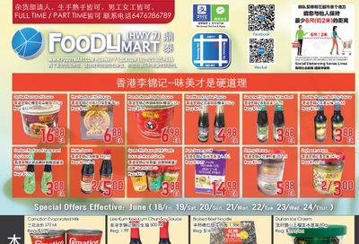 FoodyMart (HWY7) Flyer June 18 to 24