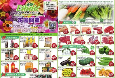 Ethnic Supermarket Flyer June 18 to 24
