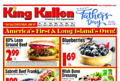 King Kullen (NY) Weekly Ad Flyer June 18 to June 24