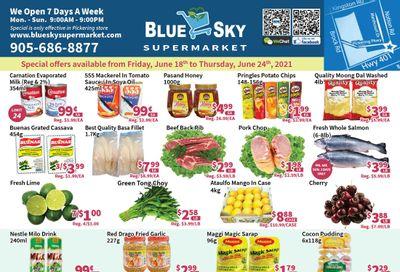 Blue Sky Supermarket (Pickering) Flyer June 18 to 24