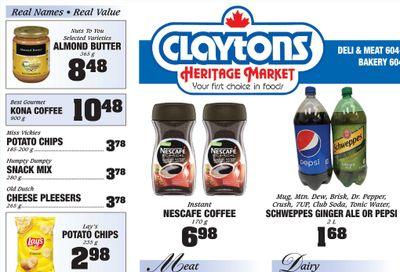Claytons Heritage Market Flyer June 18 to 24