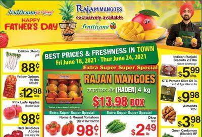 Fruiticana (Calgary) Flyer June 18 to 24