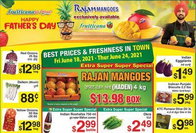 Fruiticana (Edmonton) Flyer June 18 to 24