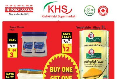 Kishki Halal Supermarket Flyer June 18 to 24