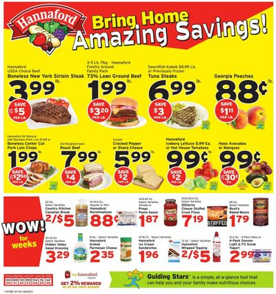 Hannaford (NY) Weekly Ad Flyer June 20 to June 26
