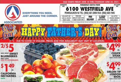 Associated Supermarkets (NY) Weekly Ad Flyer June 18 to June 24