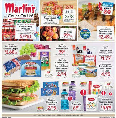 Martin's (IN, MI) Weekly Ad Flyer June 20 to June 26