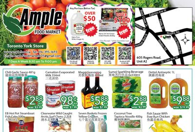 Ample Food Market (North York) Flyer June 18 to 24