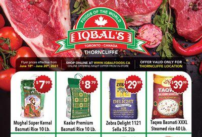 Iqbal Foods Flyer June 18 to 20