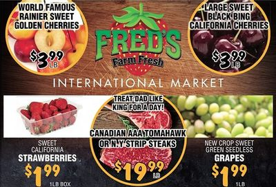 Fred's Farm Fresh Flyer June 16 to 22
