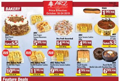 Arz Fine Foods Flyer October 18 to 24