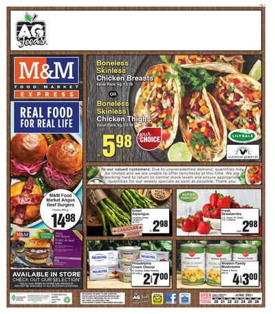 AG Foods Flyer June 20 to 26