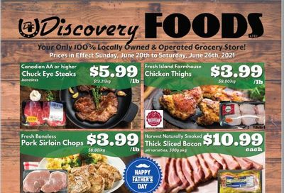 Discovery Foods Flyer June 20 to 26