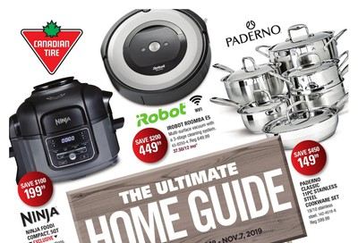Canadian Tire The Ultimate Home Event Flyer October 18 to November 7