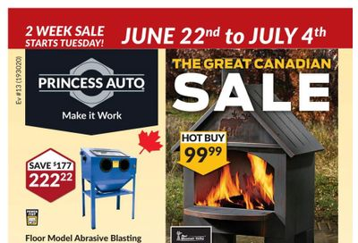 Princess Auto Flyer June 22 to July 4