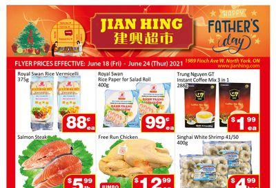 Jian Hing Supermarket (North York) Flyer June 18 to 24