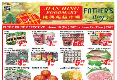 Jian Hing Foodmart (Scarborough) Flyer June 18 to 24