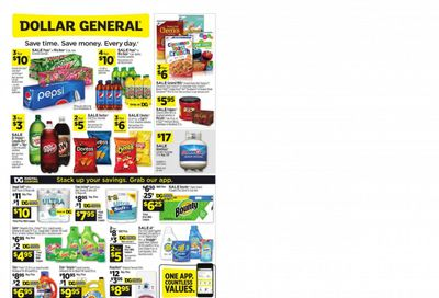 Dollar General Weekly Ad Flyer June 20 to June 26