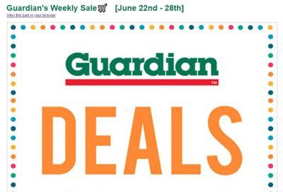 Guardian (Dartmouth Gate) Flyer June 22 to 28