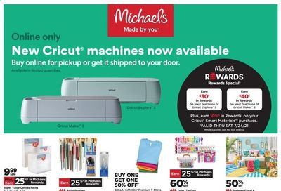Michaels Weekly Ad Flyer June 20 to June 26