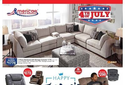 American Furniture Warehouse (AZ, CO, TX) Weekly Ad Flyer June 20 to June 26