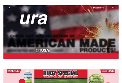 Rural King Weekly Ad Flyer June 20 to July 3