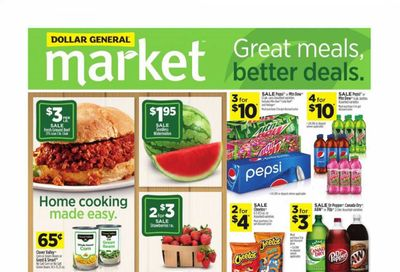 Dollar General (SC) Weekly Ad Flyer June 20 to June 26
