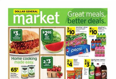 Dollar General (CA) Weekly Ad Flyer June 20 to June 26