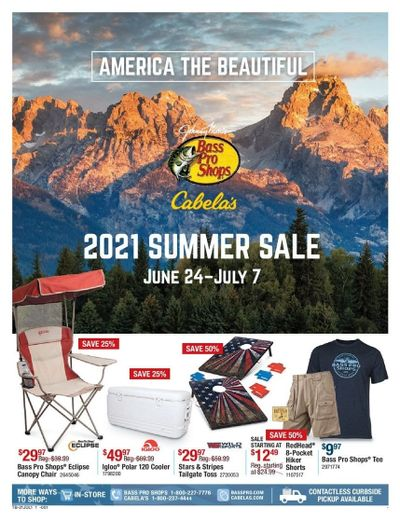 Cabela's Weekly Ad Flyer June 24 to July 7
