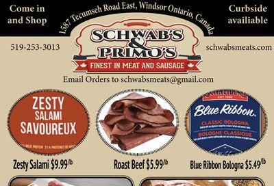 Schwab's & Primo's Flyer June 22 to 26