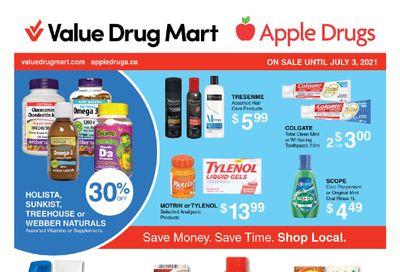 Apple Drugs Flyer June 20 to July 3