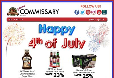 Commissary Weekly Ad Flyer June 21 to July 4