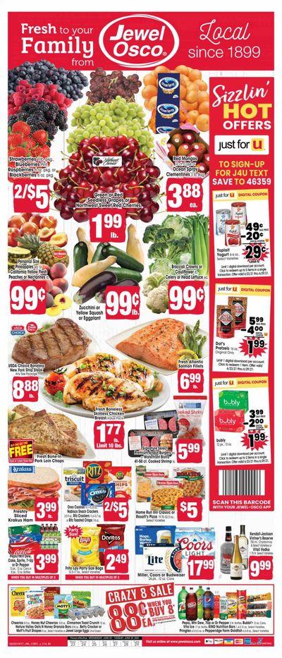 Jewel Osco (IN) Weekly Ad Flyer June 23 to June 29