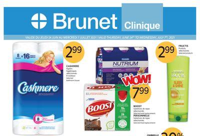 Brunet Clinique Flyer June 24 to July 7