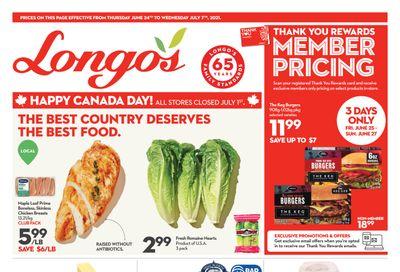 Longo's Flyer June 24 to July 7